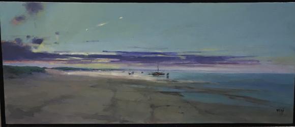 Laat strand - Cees Vegh