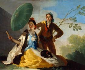 Spaanse schilder van de mens in zijn tijd.